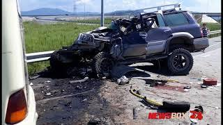 В жуткой аварии в Артеме погиб водитель автобуса, есть пострадавшие и среди пассажиров