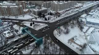 Интенсивность трафика на Московском проспекте в Ярославле замеряют с помощью квадрокоптера