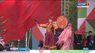 В Беломорске прошли торжества к 98-летию Карелии