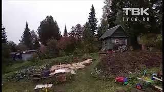 Первый снег на ст. Крючково Красноярск