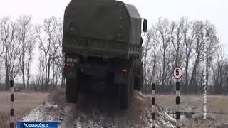 На донском полигоне прошли первые учения нового мотострелкового полка ЮВО