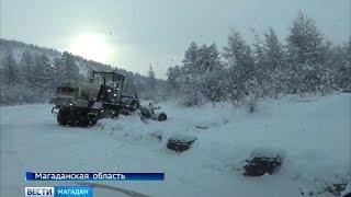 Сотрудники МЧС спасли из снежного заточения двух рыбаков