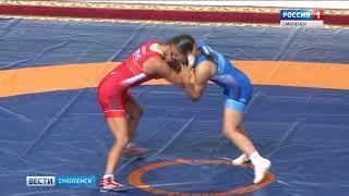 В Смоленске завершился чемпионат по вольной борьбе среди женщин