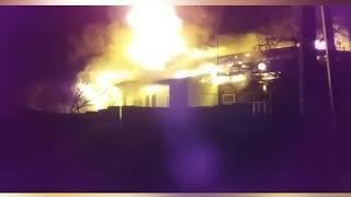 Три семьи остались без крова после пожара в Переславле