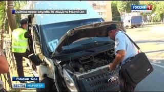 В Йошкар-Оле маршрутка въехала опору ЛЭП – пострадали 6 пассажиров - Вести Марий Эл