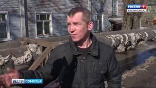 Жители Цигломени жалуются на весеннее половодье