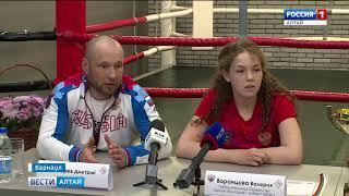 Алтайская спортсменка победила в первенстве Европы по боксу