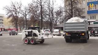 UTV. Как убирают снег во дворах Уфы