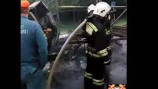 ДТП СБ Сгорела газель