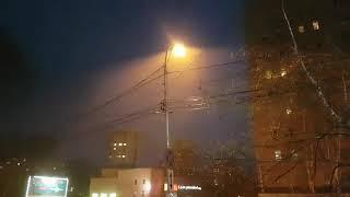 Песчаная буря в Хабаровске
