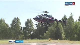 Новый вертолет санавиации отправился в первый рейс
