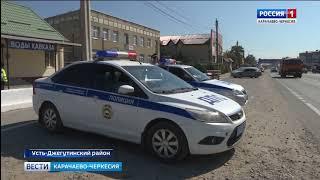 """Сотрудники ОГИБДД вместе с отрядом юных инспекторов провели акцию """"Внимание, дети!"""""""