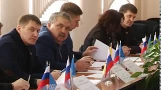 Сессия совета народных депутатов началась с минуты молчания