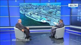 «Вести: Приморье. Интервью» с Михаилом Робкановым