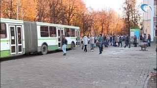 С улицы Чудинцева у зала Воинской Славы пропал остановочный комплекс
