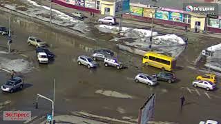 ДТП Бийск у Ривьеры 18.03.2018