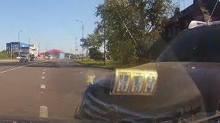 ДТП на Кирилловском шоссе - запись с регистратора