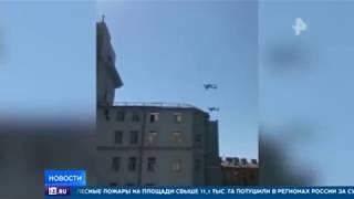 В Петербурге прошла первая репетиция парада ВМФ
