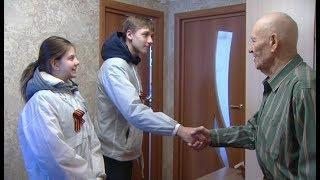 Волонтёры Победы поздравили ветеранов из Ханты-Мансийска