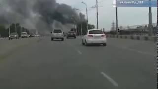 Крупный пожар на Кировском вещевом рынке произошёл в Самаре