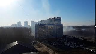 Пожар в Парковом