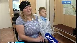Протезы, сделанные в Сколково, получили 10 детей в Иркутске
