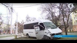 В Тирасполе маршрутка попала в ДТП