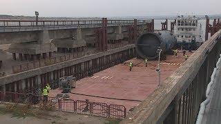 Волгоградское предприятие отгрузило крупногабаритное оборудование для завода в Узбекистане