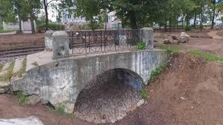 В Карякинском парке Рыбинска очистили пруд