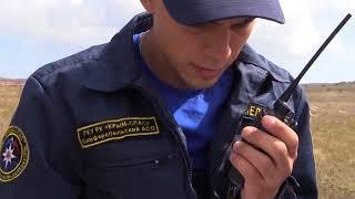 Крымские спасатели устанавливают связь в горах