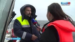 В Белом море для спасателей региона прошли учения на открытой воде