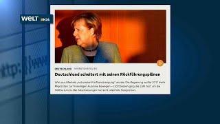 Германия. Мигранты не хотят домой