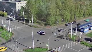 ДТП перекресток Волочаевская Юбилейная 01 10 2018