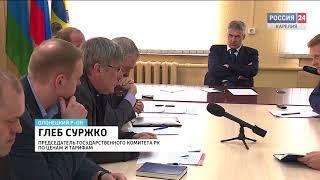 Правительство ищет пути снижения тарифов на природный газ для населения Карелии