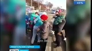 Пьяная женщина водитель сбила коляску с ребёнком в Листвянке