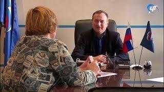 Депутат областной Думы Сергей Бусурин провел прием по личным вопросам