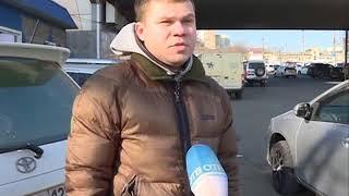 Подставное ДТП произошло на Луговой