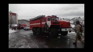 В Петропавловске пожарные эвакуировали людей из торгового центра «Пирамида»