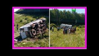 Опубликованы страшные кадры с места ДТП с поездом в Орловской области | TVRu