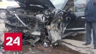 Попытка уклониться от ДТП привела к смертельному столкновению на Украине - Россия 24