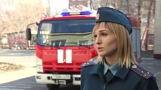 Пожарные в гостях у дошколят