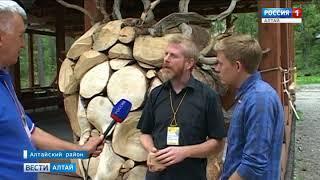 Скульптор из Барнаула Сергей Мозговой стал лучшим на алтайском фестивале