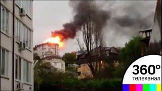 Более пяти часов понадобилось спасателям, чтобы справится с огнем в многоквартирном доме в Сочи