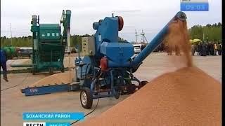 Фермер в Боханском районе контролирует свои поля с помощью IT технологий