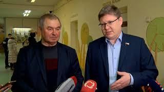 18 03 2018 Алексей Прасолов и Андрей Исаев проголосовали в Ижевске на выборах Президента России
