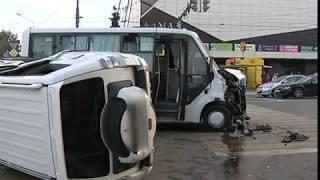 Новые подробности аварии с участием маршрутного такси в Ярославле