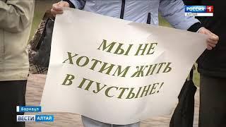 Барнаульцы хотят сохранить ленточный бор на территории медкластера