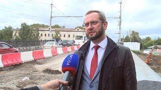 ОНФ взял под контроль ремонт Октябрьского моста