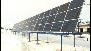 В Югре появилась первая дизель-солнечная электростанция