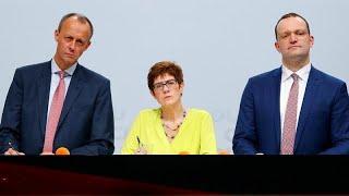 Германия: кто возглавит ХДС?